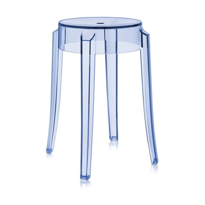 Табурет Charles Ghost голубого цвета