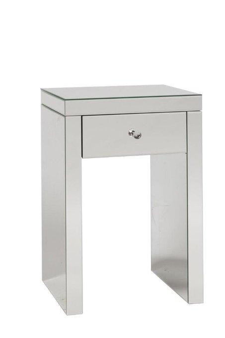 Прикроватный столик Branche с зеркальной поверхностью