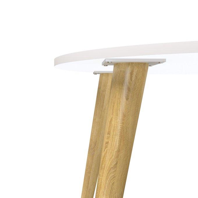 Стол обеденный Oslo с белой столешницей