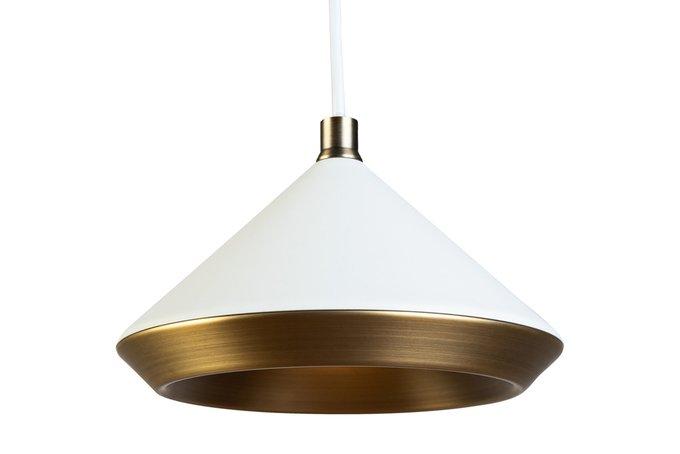 Лампа подвесная белого цвета