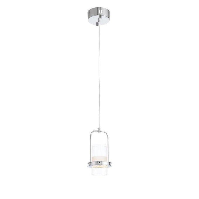 Подвесной светодиодный светильник из пластика и металла