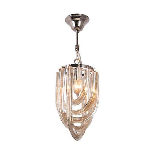 Подвесной светильник Сognac с плафоном из стекла