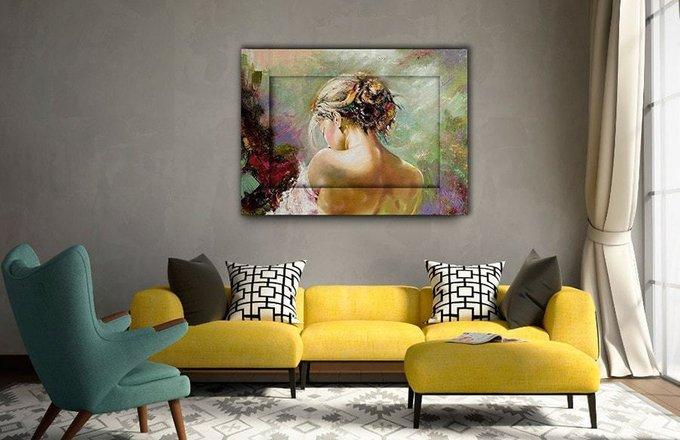 Картина с арт рамой Нежность 80х100