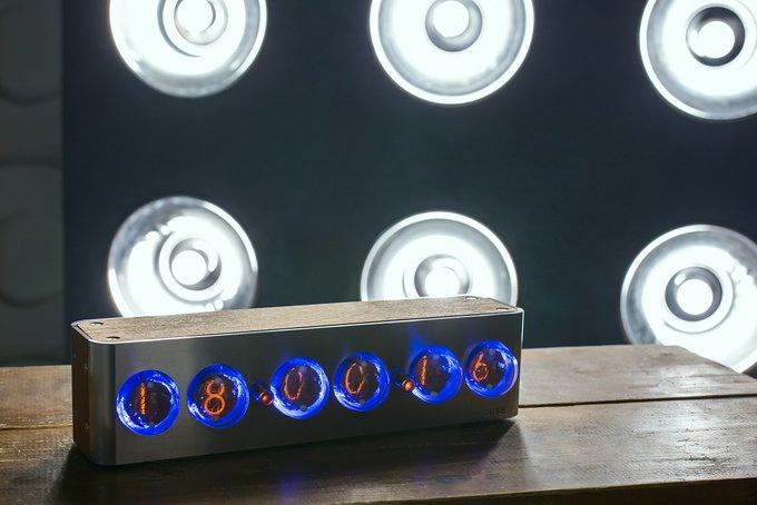 Часы на газоразрядных индикаторах Lighthouse 2.0 Steel