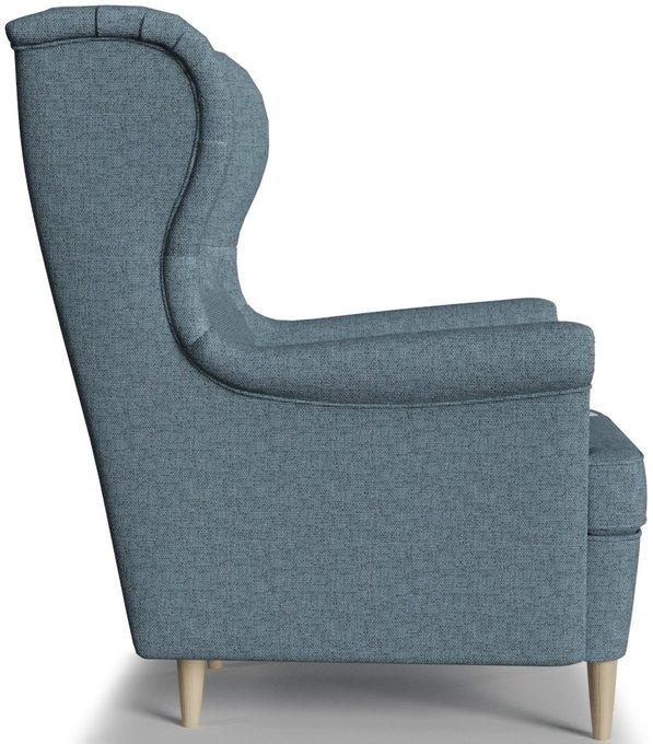 Кресло Торн серо-голубого цвета