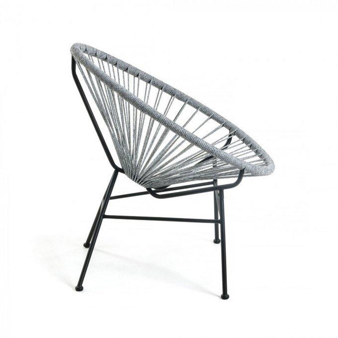 Кресло Samantha светло-серого цвета