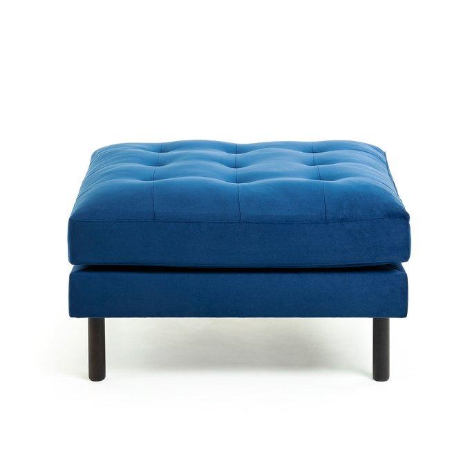 Квадратный пуф Bogart темно-синего цвета