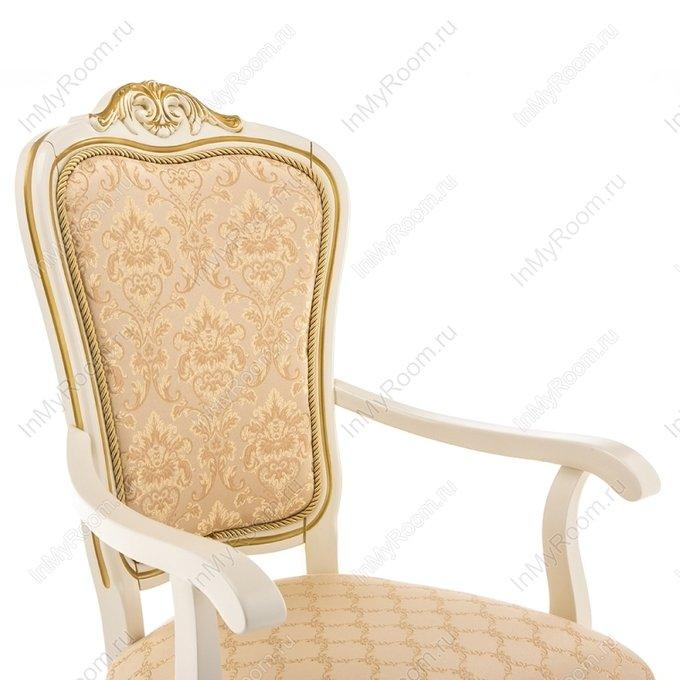 Обеденный стул Руджеро с бежевой обивкой