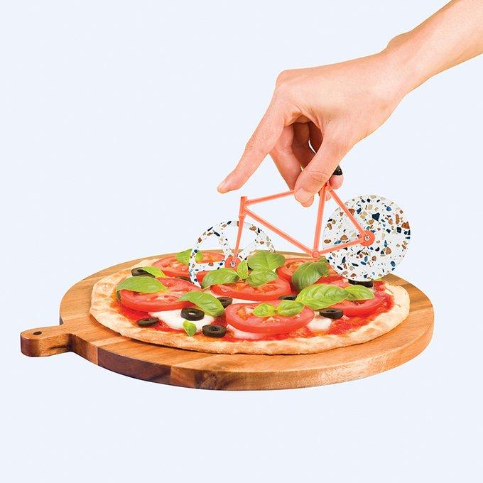 Нож для пиццы из нержавеющей стали Doiy the fixie