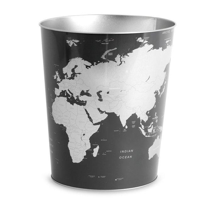 Корзина для бумаг Globe синего цвета