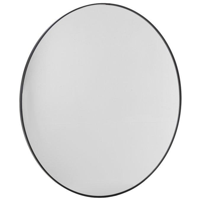 Зеркало настенное Базель блэк черного цвета