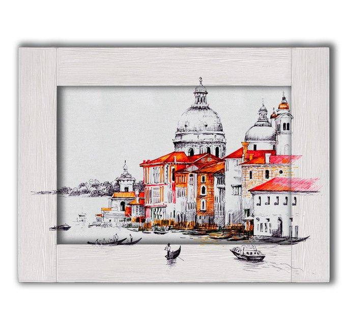 Картина Венеция с Арт рамой 55х45
