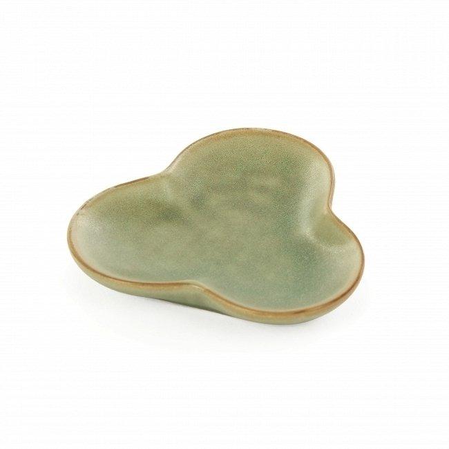 Тарелка для суши Isamu сине-зеленого цвета