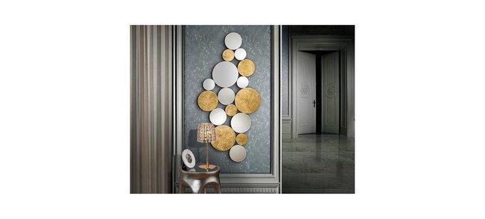 Настенное зеркало Schuller Cirze из множества маленьких зеркал140х60 см