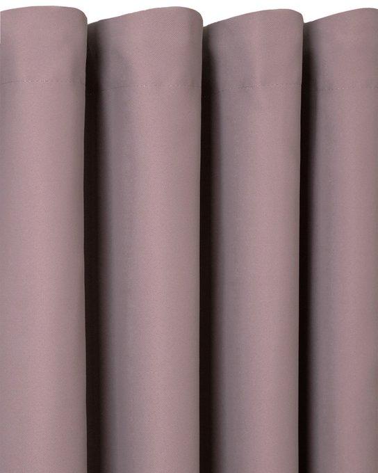 Штора блэкаут Java 170х270 цвета пыльной розы
