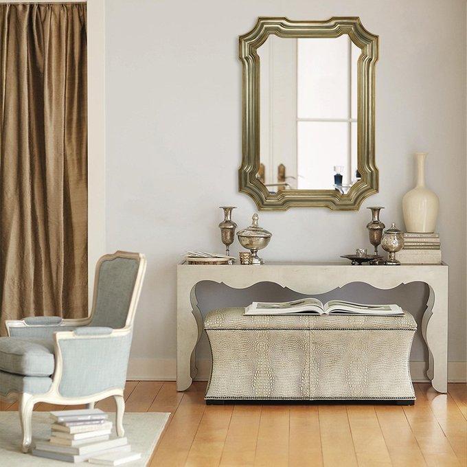Зеркало в раме Monaco цвета Античное золото