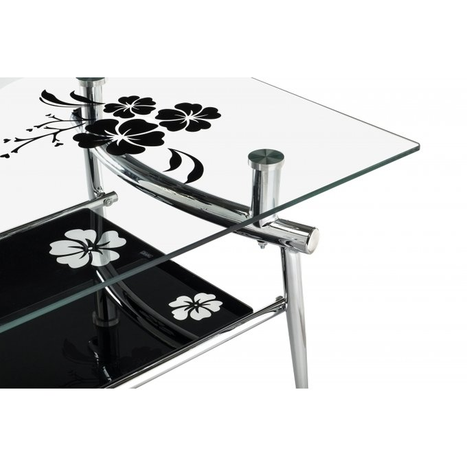 Журнальный стол Bor со стеклянной столешницей