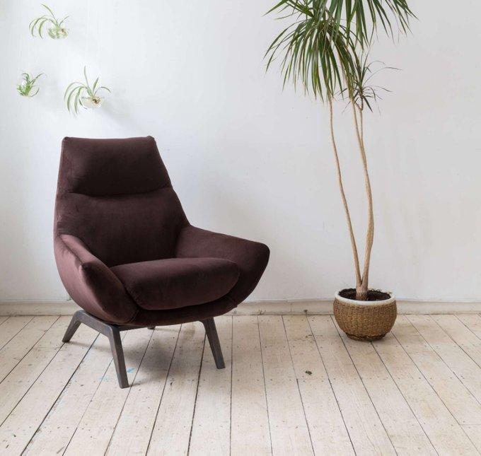Кресло Relax коричневого цвета