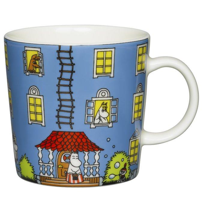 Кружка Moomin Муми-дом из фарфора
