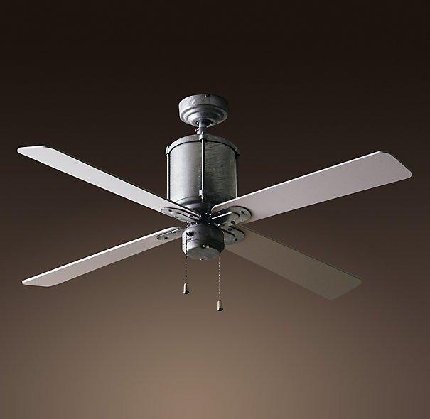 Потолочный вентилятор со светильником