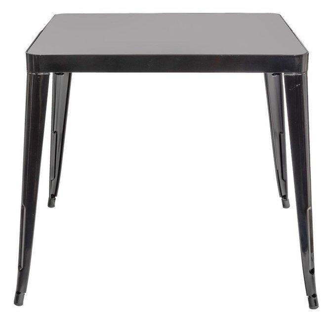 Обеденный стол Tolix черного цвета