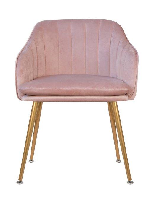Стул Aqua steel pink розового цвета