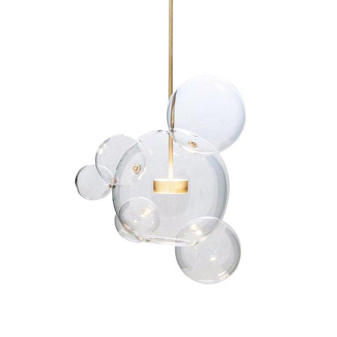 Подвесной светодиодный светильник Галла с прозрачным плафоном