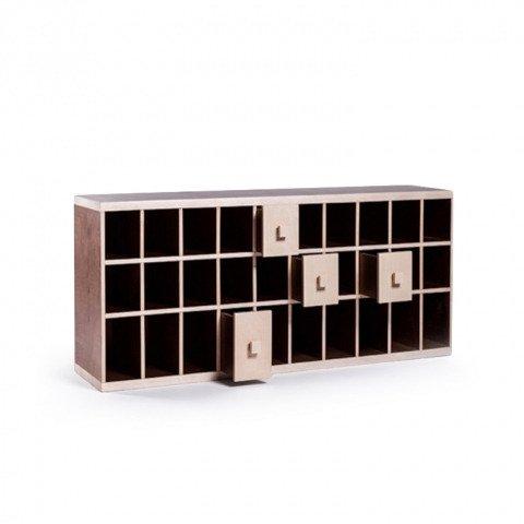 Обувница-скамейка с ящиками Presto 2