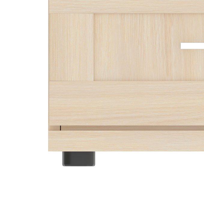 Комод Орнета бежевого цвета с пятью ящиками