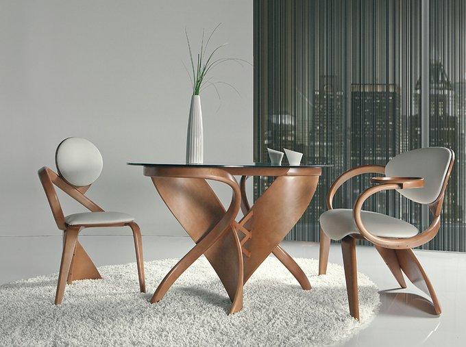 Обеденный стол Virtuos С со стеклянной столешницей