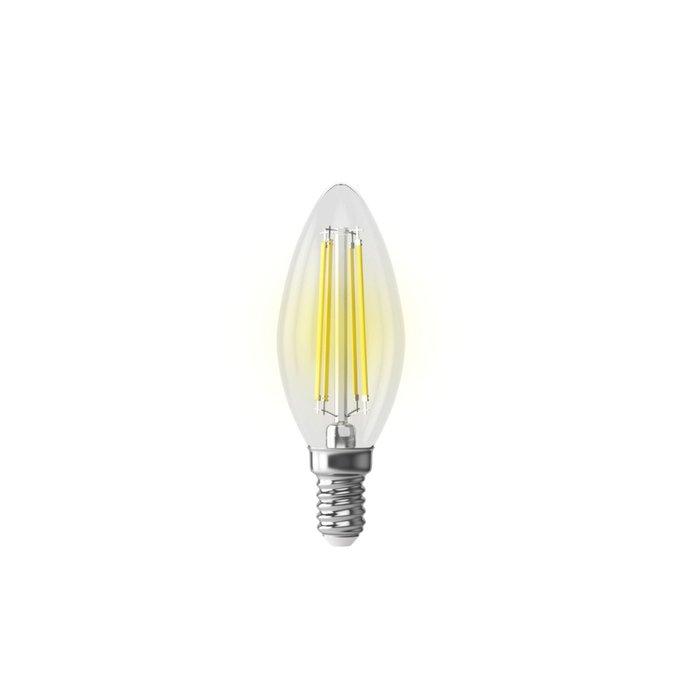 Лампа светодиодная Candle Graphene прозрачная