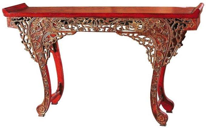 Консольный стол Цяотоуань-кунчи Династия - Мин