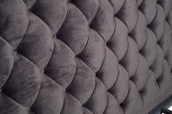 Кровать двуспальная с мягким изголовьем 200х180
