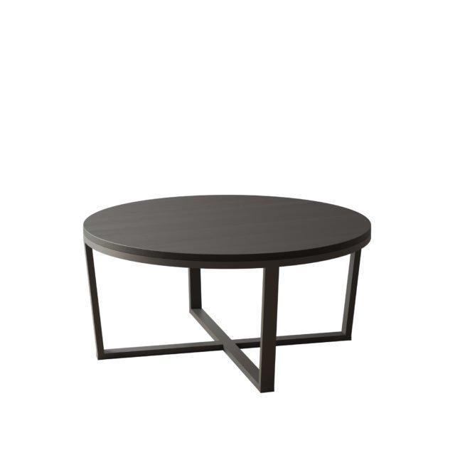 Журнальный столик Bruno черного цвета