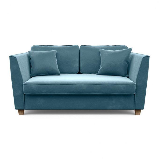 Двухместный диван Уолтер M голубого цвета