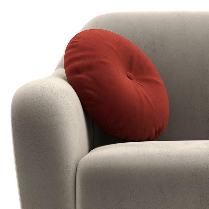 Двухместный диван Miami lux серого цвета