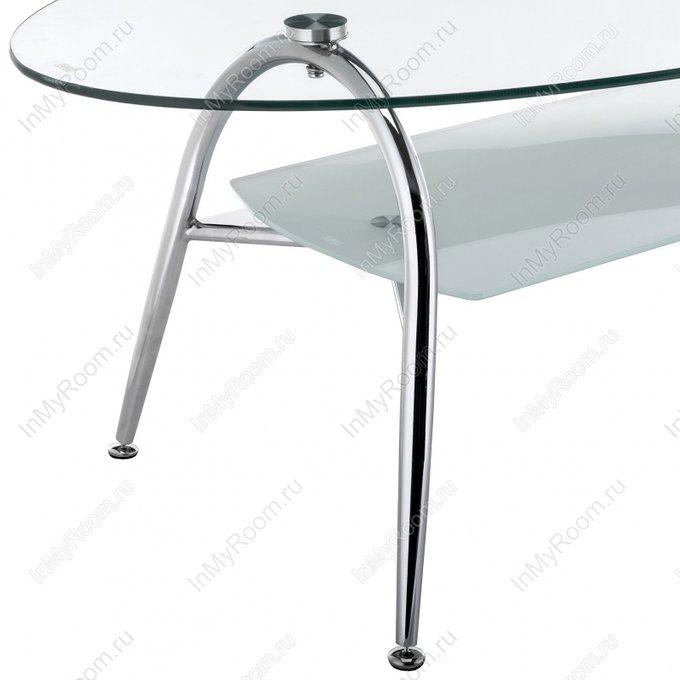Журнальный стол Oliver со стеклянной столешницей