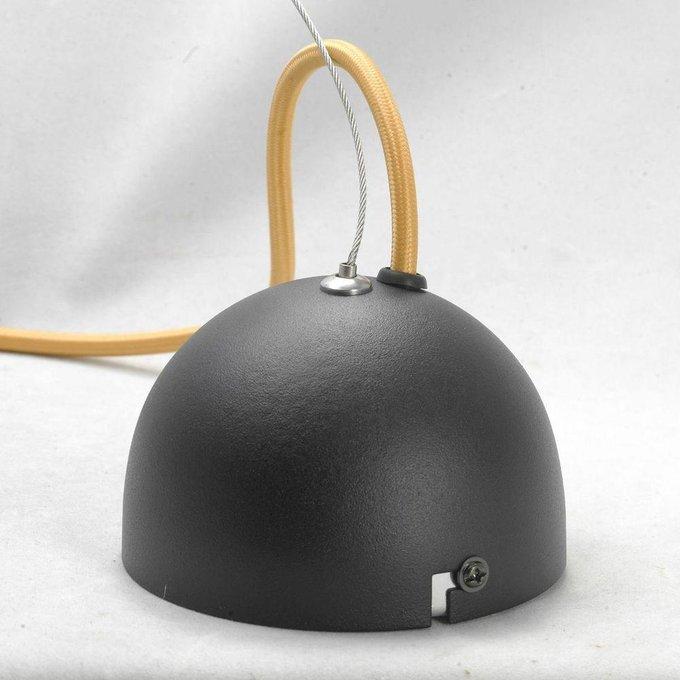 Подвесной светильник Yukon с черным плафоном