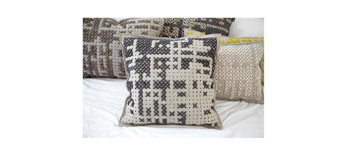 Чехол на подушку Canevas из натуральной шерсти