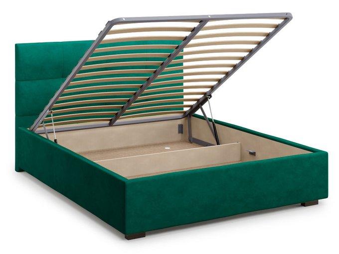 Кровать Garda 180х200 зеленого цвета с подъемным механизмом