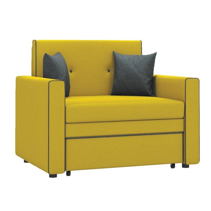 Кресло-кровать Найс горчичного цвета