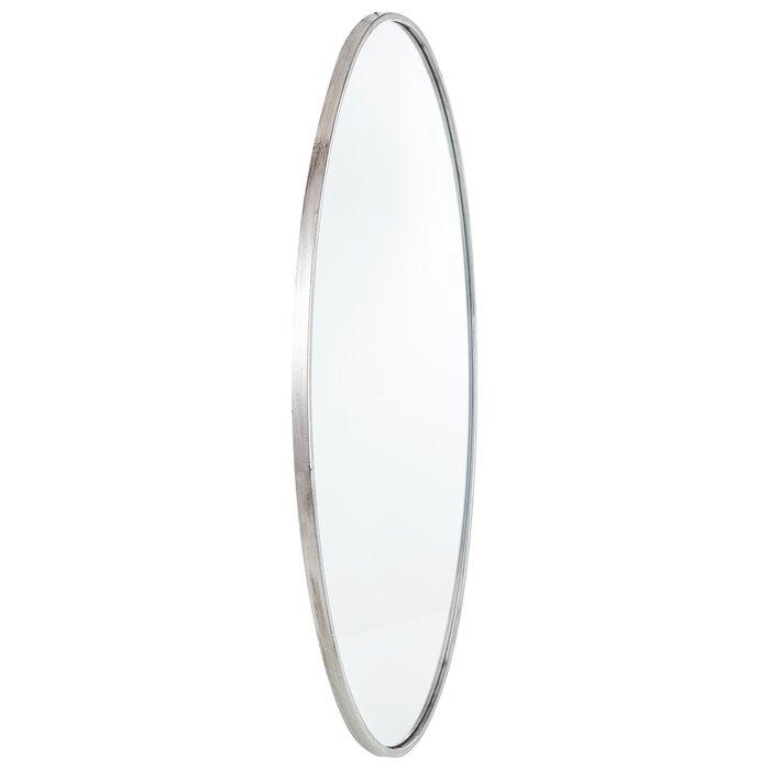 Зеркало настенное Биарриц серебряного цвета