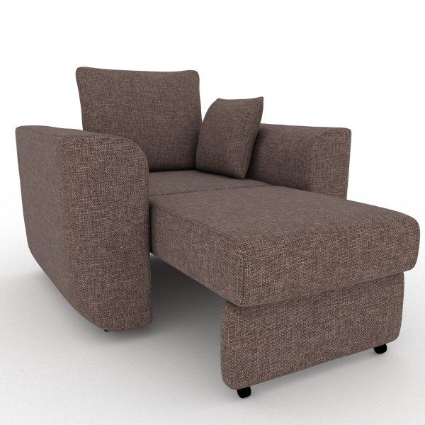 Кресло-кровать Stamford коричневого цвета