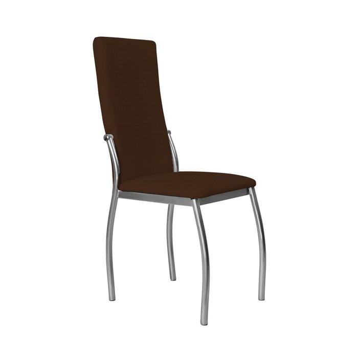 Кухонный стул Пекин №8 Серебро коричневого цвета