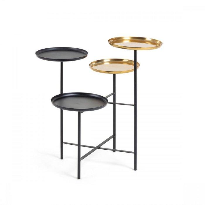 Кофейный столик Nanuk с четырьмя столешницами