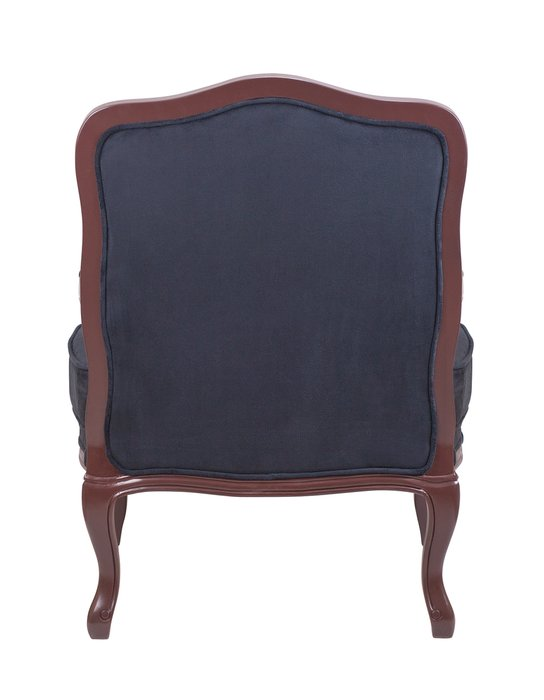 Кресло Nitro black syrup черного цвета