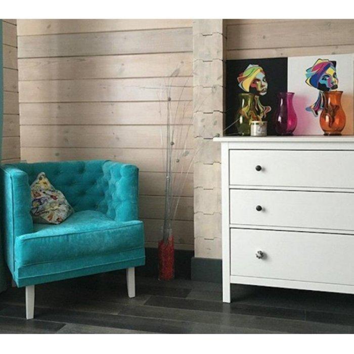 Кресло для отдыха Мессино бежевого цвета