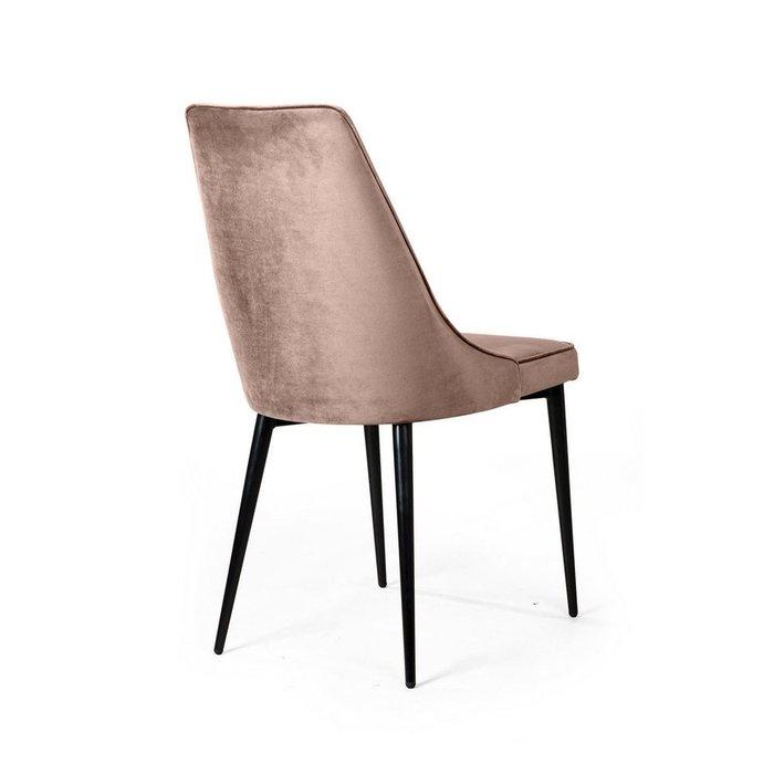 Комплект из четырех стульев Oliver бежевого цвета