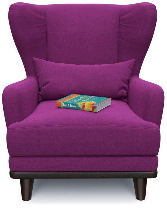 Кресло Роберт Людвиг дизайн 6 фиолетового цвета
