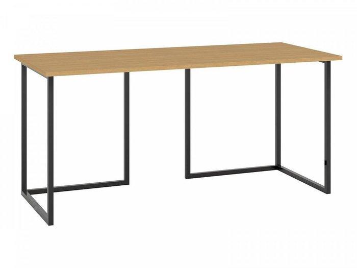 Письменный стол Board с основанием черного цвета